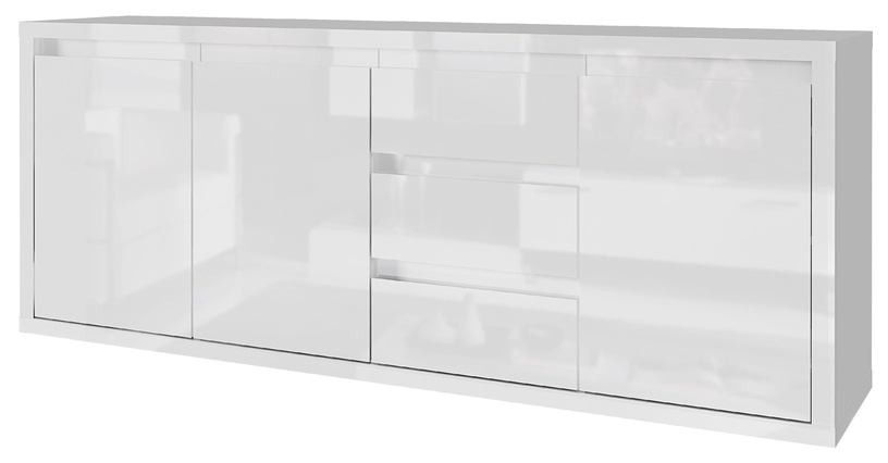 Tuckano Glance Chest Of Drawers 1800x780x400mm White