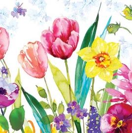 Paw Decor Collection Tulips Lea 33 x 33 cm