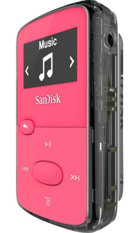 Музыкальный проигрыватель SanDisk Clip Jam, розовый, 8 ГБ