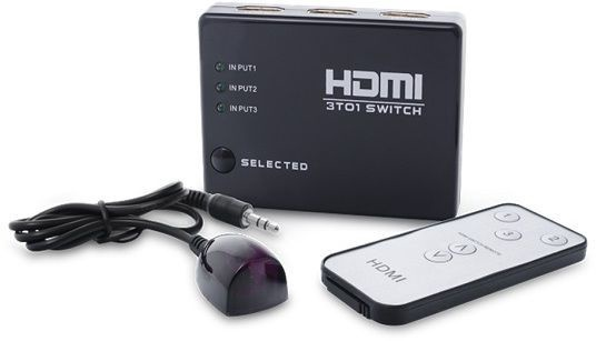 Savio CL-28 HDMI Video Switch