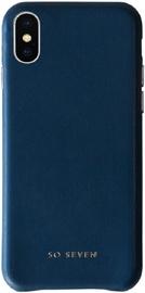 So Seven Premium Colors Back Case For Apple iPhone X/XS Blue