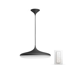 Išmanusis šviestuvas Philips Cher Hue, juodas, 1x39W 24V