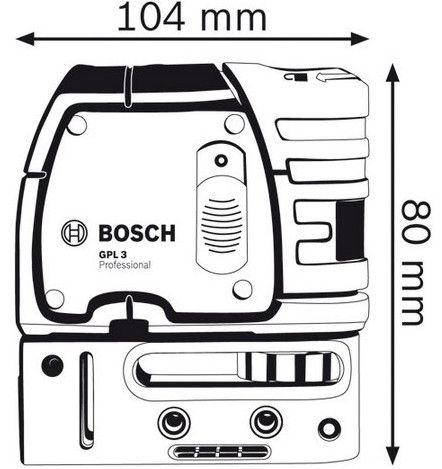 Bosch GPL3 Point Laser