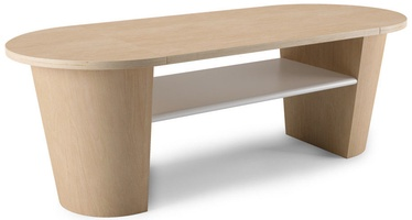 Umbra Woodrow Coffee Table White/Walnut