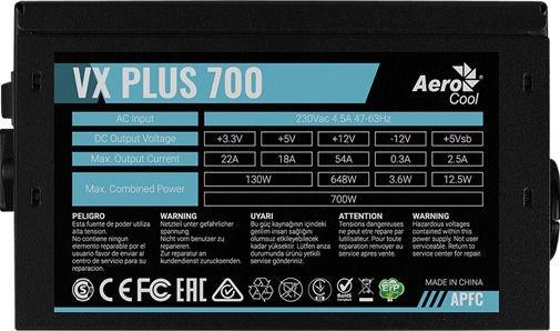 AeroCool VX-700 Plus PSU 700W