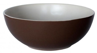 Cesiro Wood Bowl 15cm Brown/White