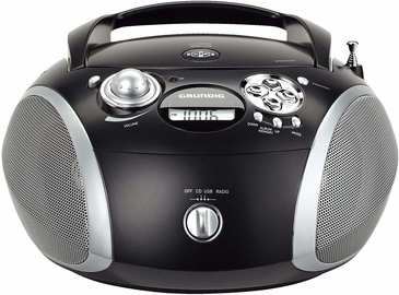 Grundig GRB 2000 CD Player Black Silver