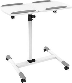 Techly 309586 Flexible Universal Trolley for Notebook / Projector White