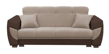 Диван-кровать Idzczak Meble Blanca Beige/Brown, 237 x 93 x 95 см