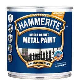 Metalo dažai Hammerite Smooth, balti, 0.25 l
