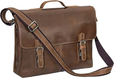 Pedea San Benito Notebook Bag 15.6'' Brown