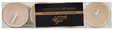 Home4you Teacandles 4pcs Chocolate Brownie