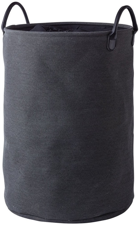 Aquanova Nort Laundry Basket 76l Dark Grey