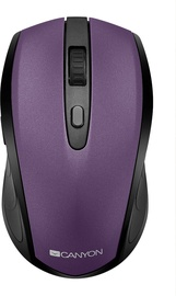 Canyon CNS-CMSW08 Wireless Optical Mouse Purple