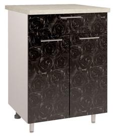 OEM Kitchen Bottom Cabinet With Drawer D2 4 Black Rose