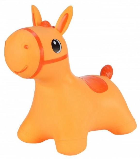 Tootiny Hoppimals Jumping Horse Orange