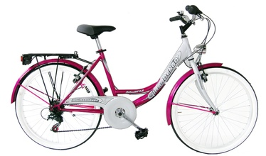 """Jalgratas Girardengo GHL24206 24"""" Pink White"""