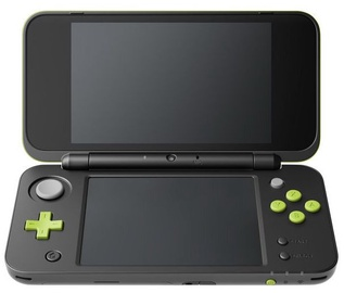 Nintendo New 2DS XL incl. Mario Kart 7 Black/Lime Green