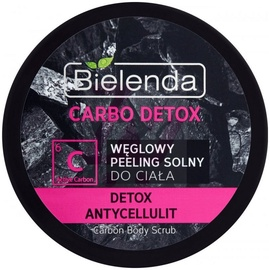 Bielenda Carbo Detox Charcoal Body Scrub 250g