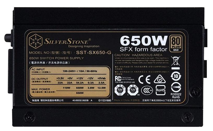 SilverStone PSU SFX 80 Plus Gold SX650-G 650W