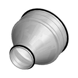 Pāreja ar blīvi Amalva PCTP 200/125, ⌀ 125-200 mm