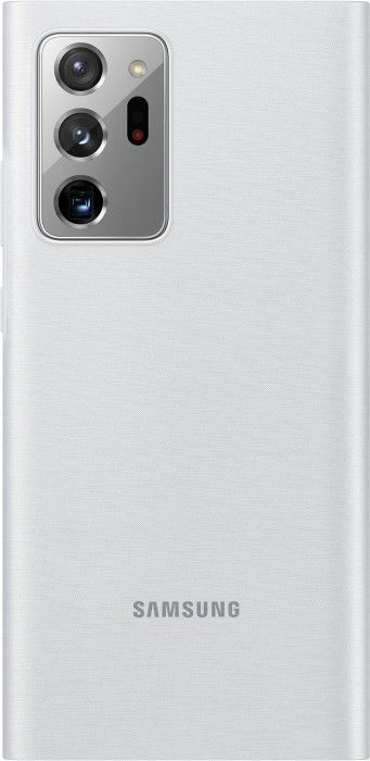 Samsung LED View Case For Samsung Galaxy Note 20 Ultra Silver