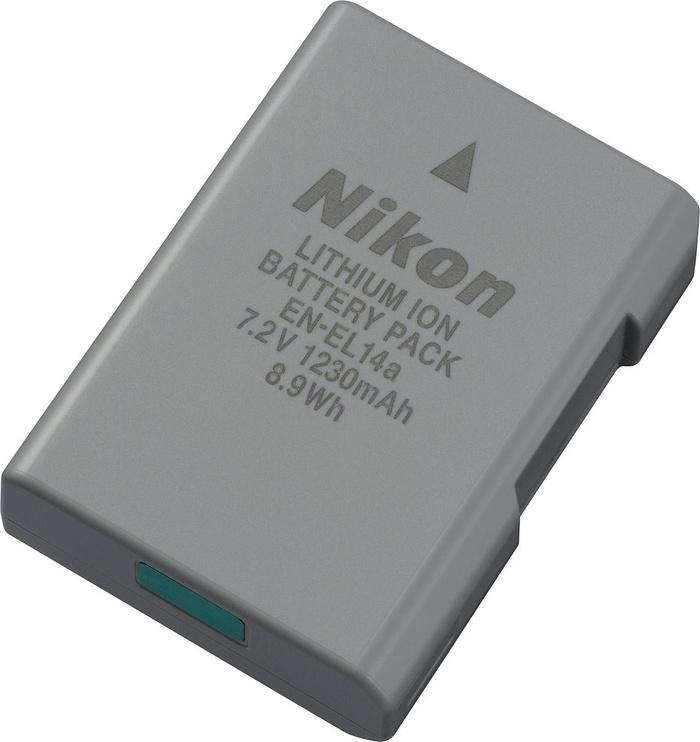Aku Nikon EN-EL14a Lithium-Ion Battery 1230mAh