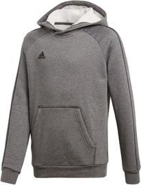 Adidas Core 18 Hoodie JR CV3429 Grey 128cm