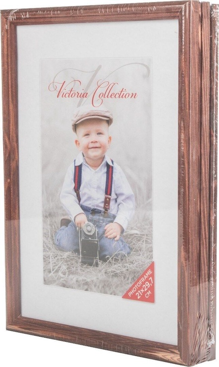 Victoria Collection Photo Frame Trio 21x29.7cm Brown 3pcs