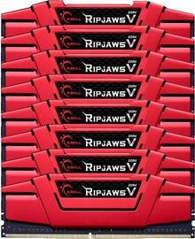 G.SKILL RipJawsV Series Red 128GB 3000MHz CL14 DDR4 KIT OF 8 F4-3000C14Q2-128GVRD