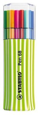 Stabilo Felt-Tip Pen 68 15pcs