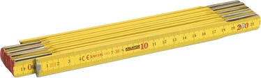 Kreator KRT701001 Folding Ruler Wood Basic 2m