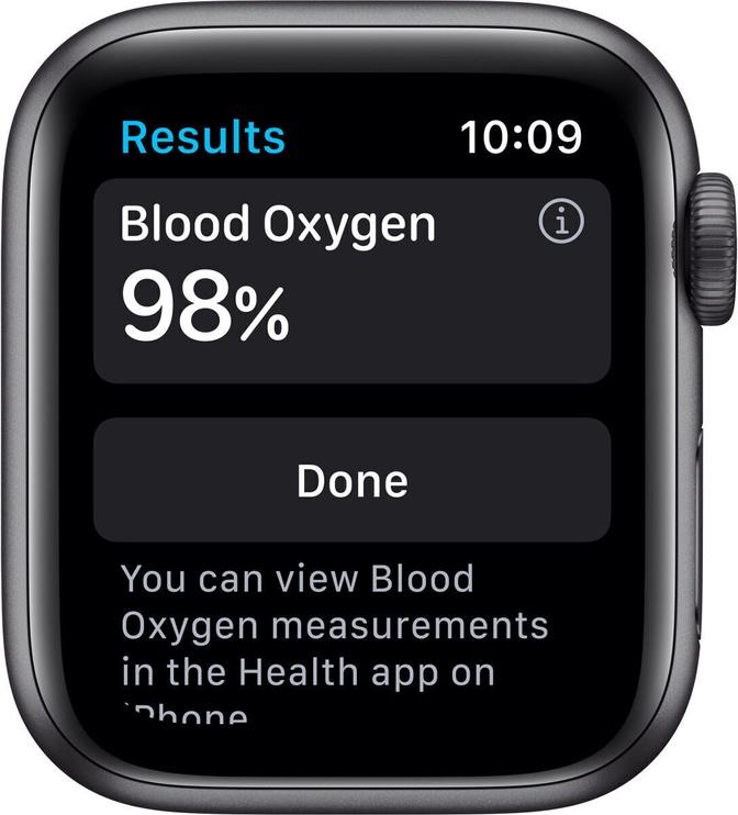 Умные часы Apple MG2E3EL/A, черный