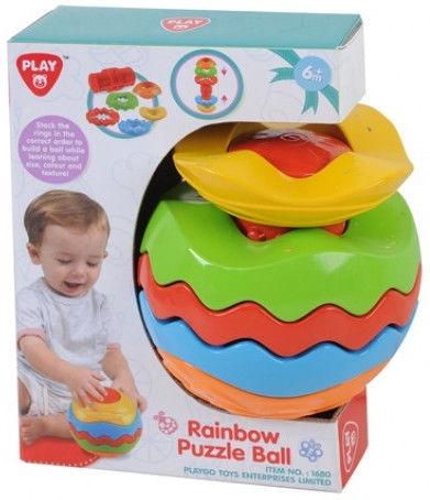 PlayGo Rainbow Puzzle Ball 1680