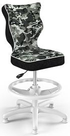 Krēsls Entelo Petit Black HC+F Size 3 Children Chair ST33 White/Camo