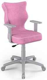 Детский стул Entelo Duo VS08, розовый/серый, 375 мм x 1000 мм