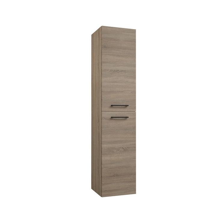 Raguvos Baldai Verona SRU35P Tall Cabinet Grey Oak