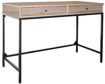 Signal Meble Writing Desk Biurko B-187 Oak/Black