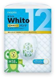 Autiņbiksītes Whito Diapers Pants, M, 58 gab.