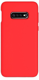 Evelatus Soft Touch Back Case For Samsung Galaxy S10e Red