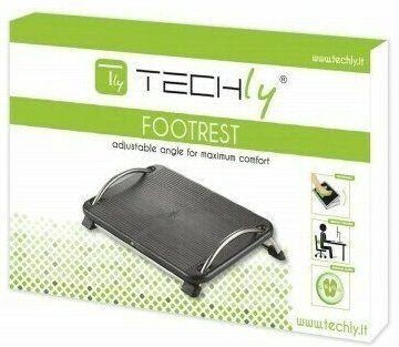 Techly Ergonomic Adjustable Footrest