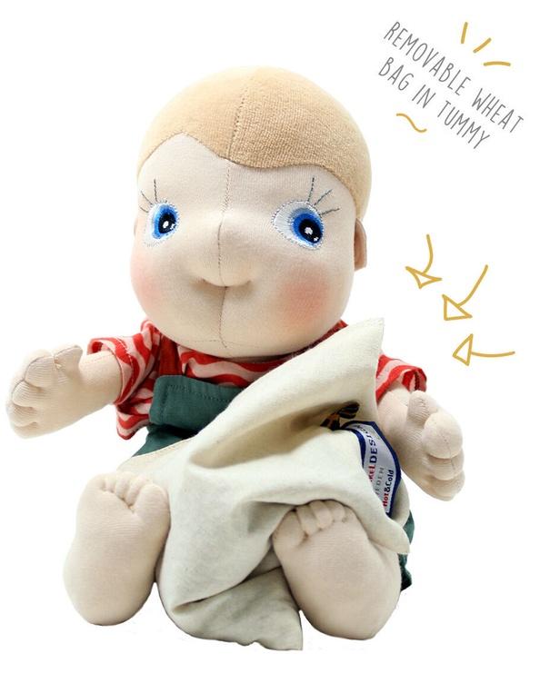 Тряпичная кукла Rubens Barn Tummies Organic Dolls Celsius