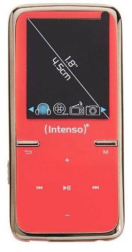 Музыкальный проигрыватель Intenso Video Scooter, розовый, 8 ГБ