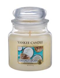 Aromātiskā svece Yankee Candle Classic Medium Jar Coconut Splash, 411 g, 65 h