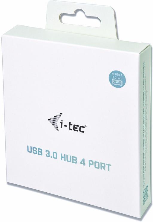 USB-разветвитель (USB-hub) I-Tec USB 3.0 Metal Passive HUB 4 port