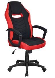 Biroja krēsls Signal Meble Camaro Black/Red