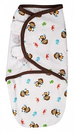 Summer Infant SwaddleMe Original Swaddle Small Monkey In Jungle
