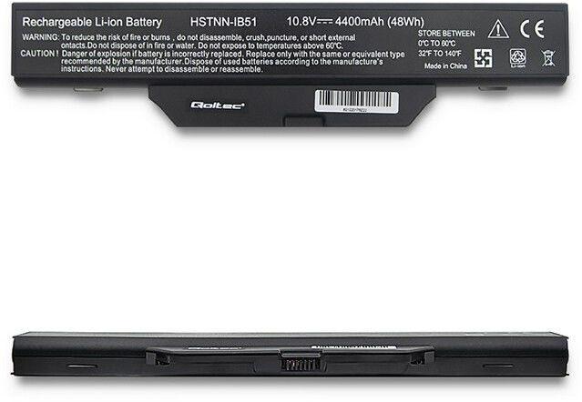 Qoltec 52568 Battery for HP 6720 4400mAh