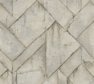 Обои As Creation Industrial 377414, виниловые, коричневый/серый