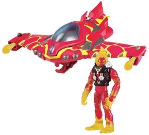 Žaislinė figūrėlė Playmates Toys Ben 10 Heatblast Rocket Flyer 77401